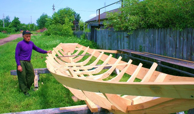 Лодка изготовленная своими руками 58